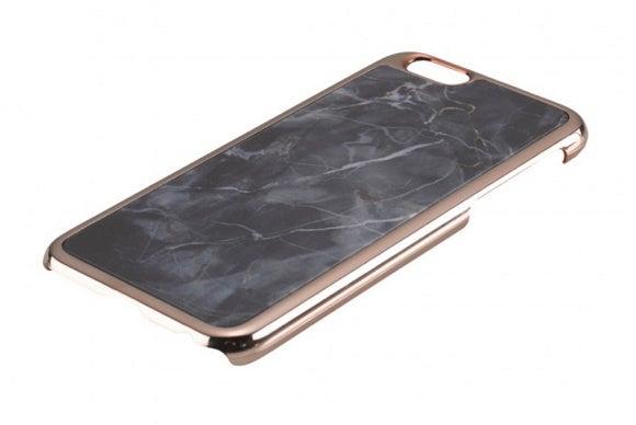 samantha wills black marble iphone case