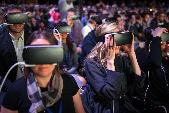 Samsung's Gear VR headset.