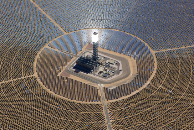 Ivanpah concentrated solar power plant