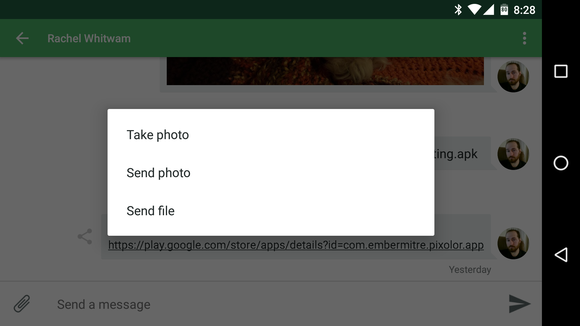 share large files android pushbullet