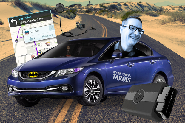 """How I turned my older car into a networked, """"smart car"""
