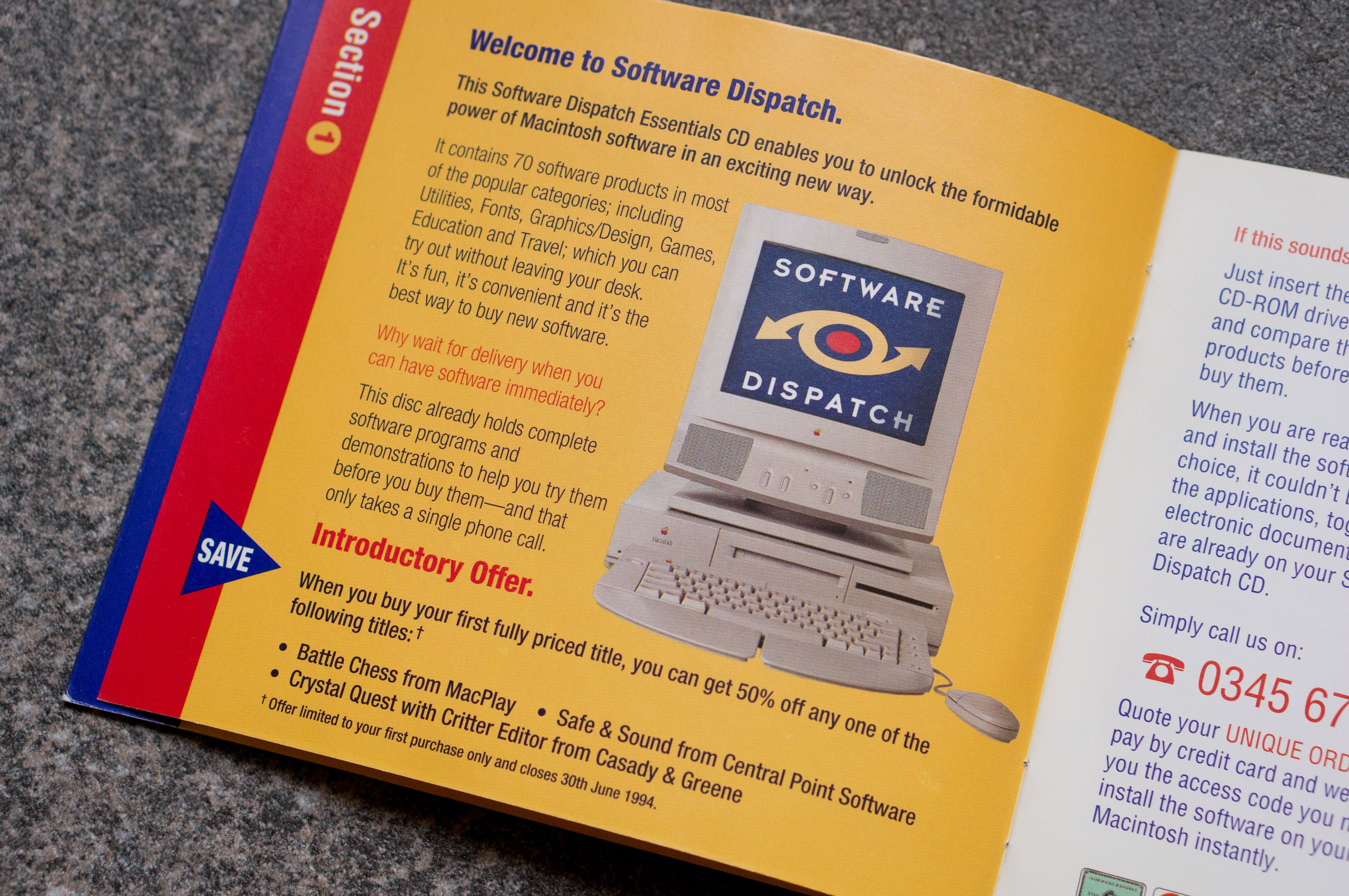 Revisiting Software Dispatch, 1994's Mac App Store on CD-ROM