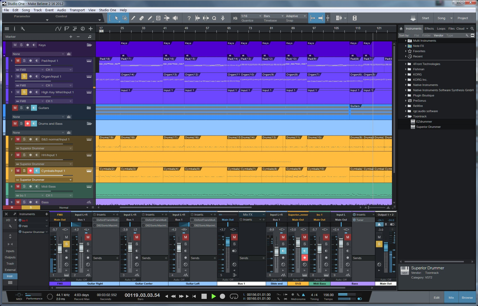 presonus studio one 3 instruments download