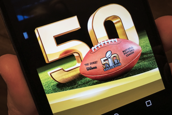 Super Bowl 50 network stats performance