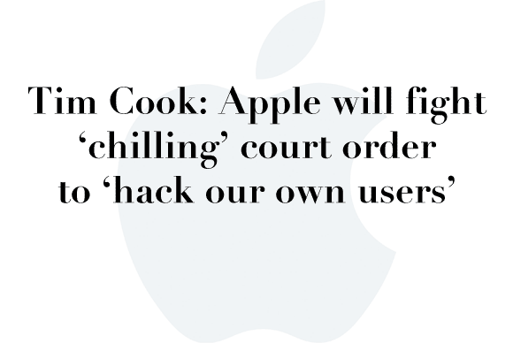 tim cook fbi