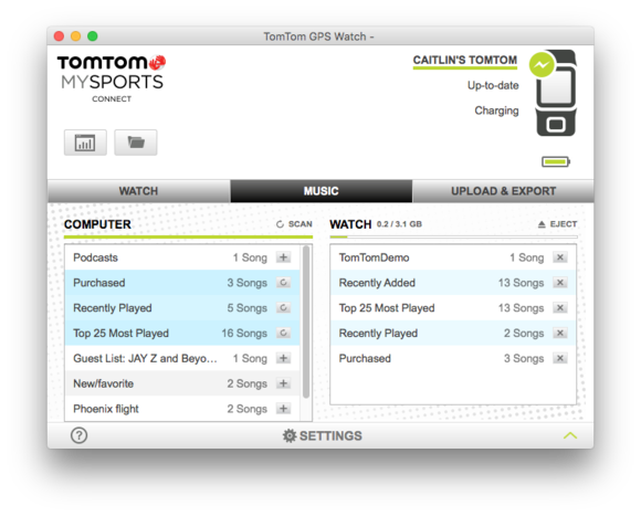 tomtom mysports for mac