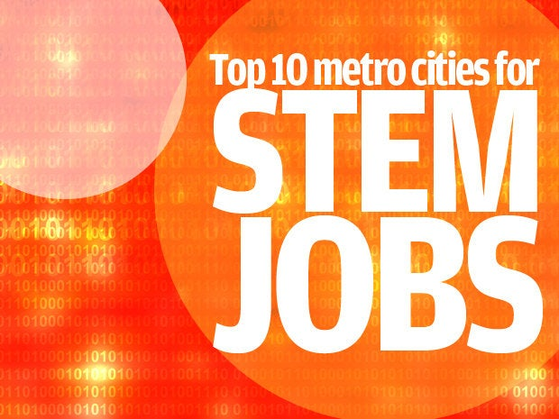 top metro areas for tech jobs