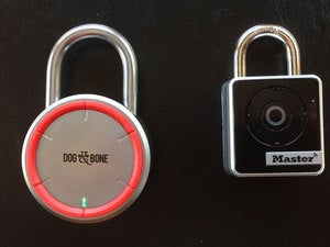 Dog & Bone and Master Lock Bluetooth padlocks
