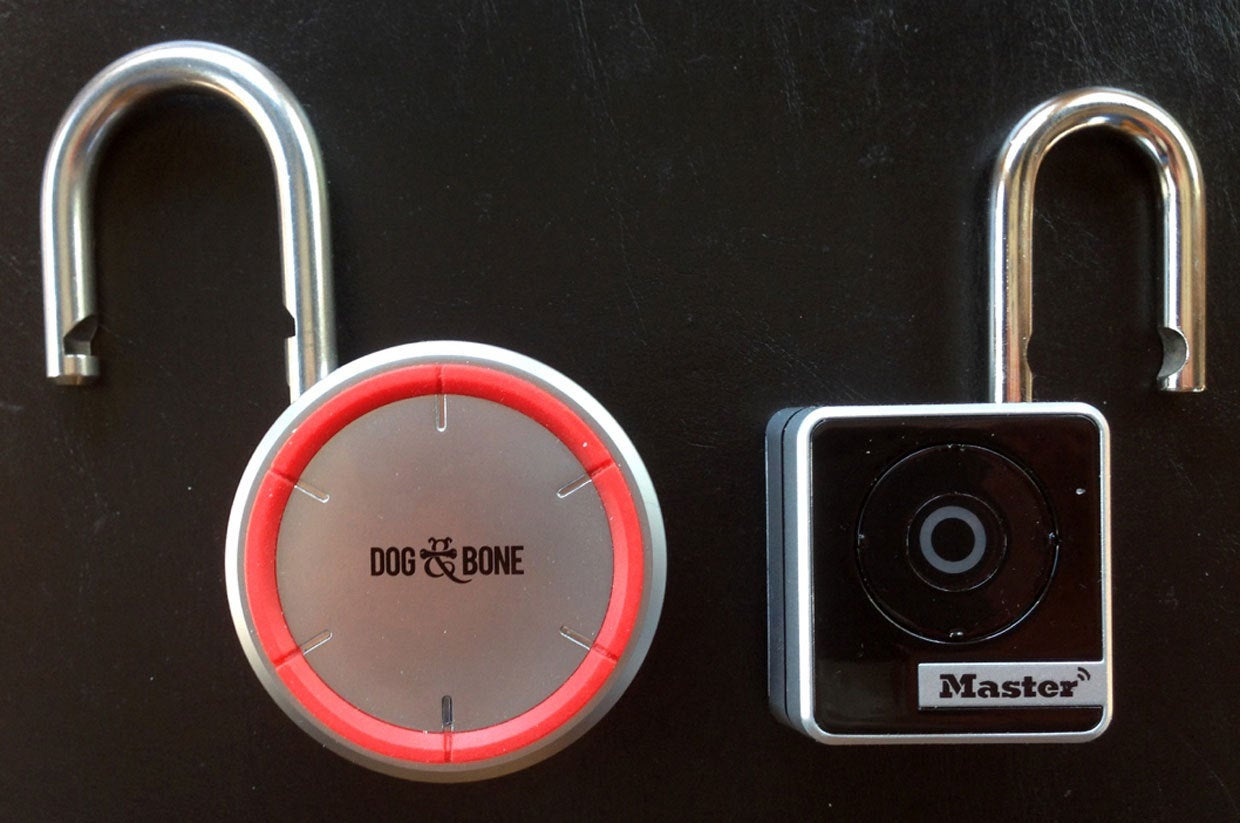 Keyless Bluetooth padlocks reviewed: Dog & Bone vs  Master