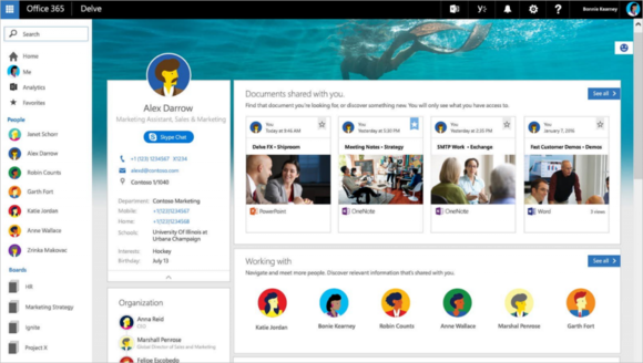 updated people profile experiences coming soon to office 365 1 border 1024x579