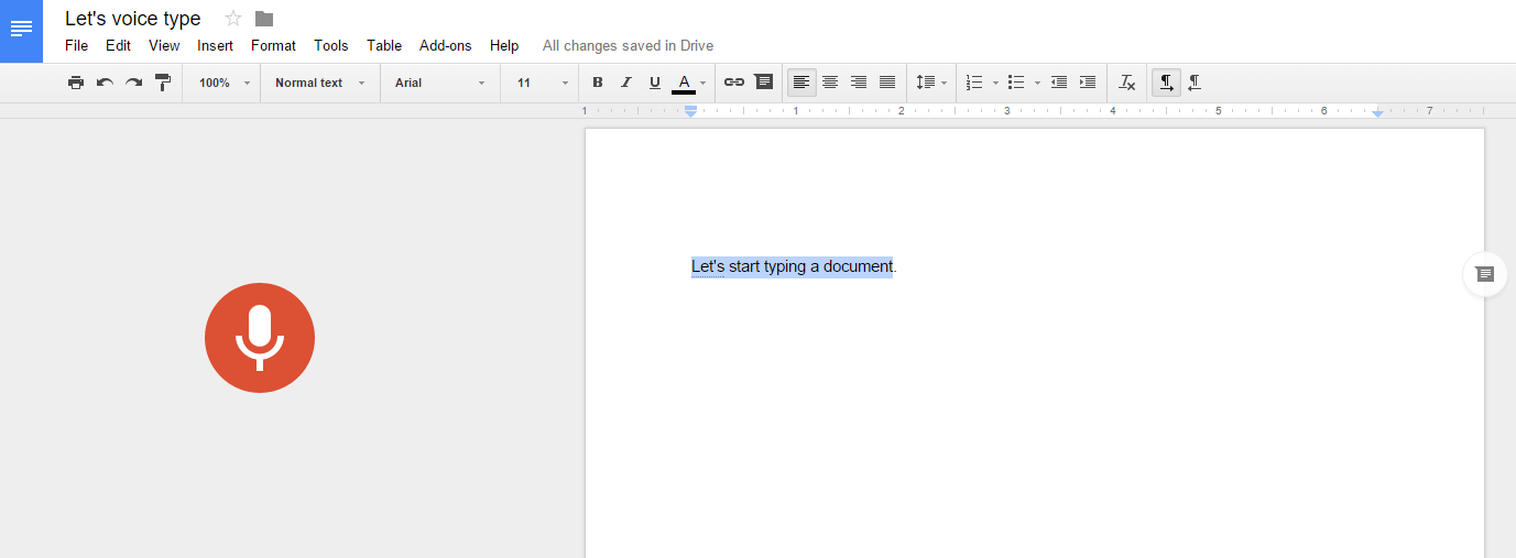 how to use voice dictation in google docs pcworld