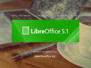 LibreOffice 5.1 announcement