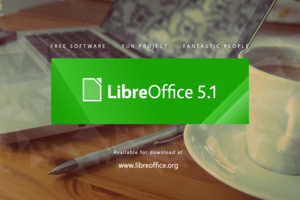 LibreOffice 5.1 announcement