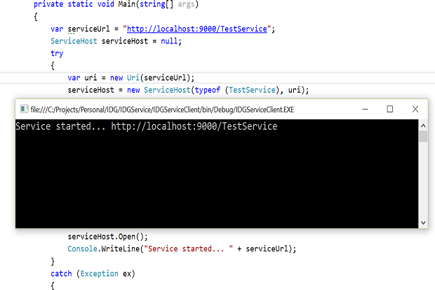 how to write a web service