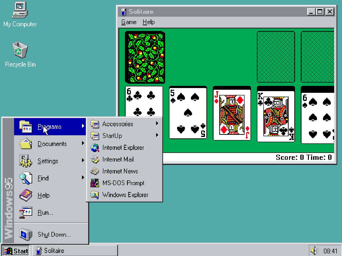 You can run windows 95 inside your browser now pcworld for Windows windows