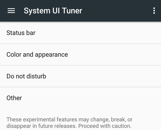 11 system ui tuner