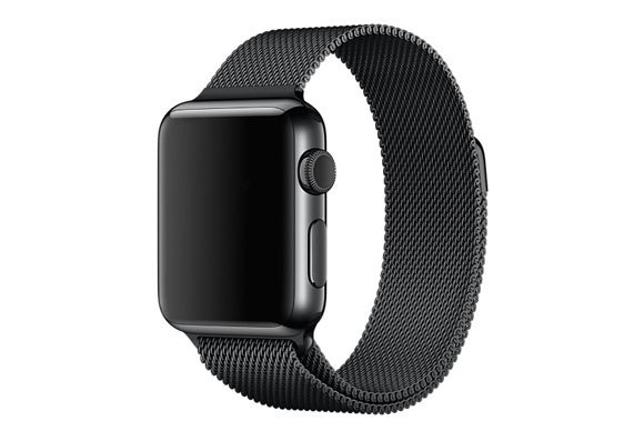 15 milanese loop black