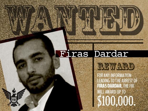 FBI's Most Wanted Cybercriminals:  firas dardar