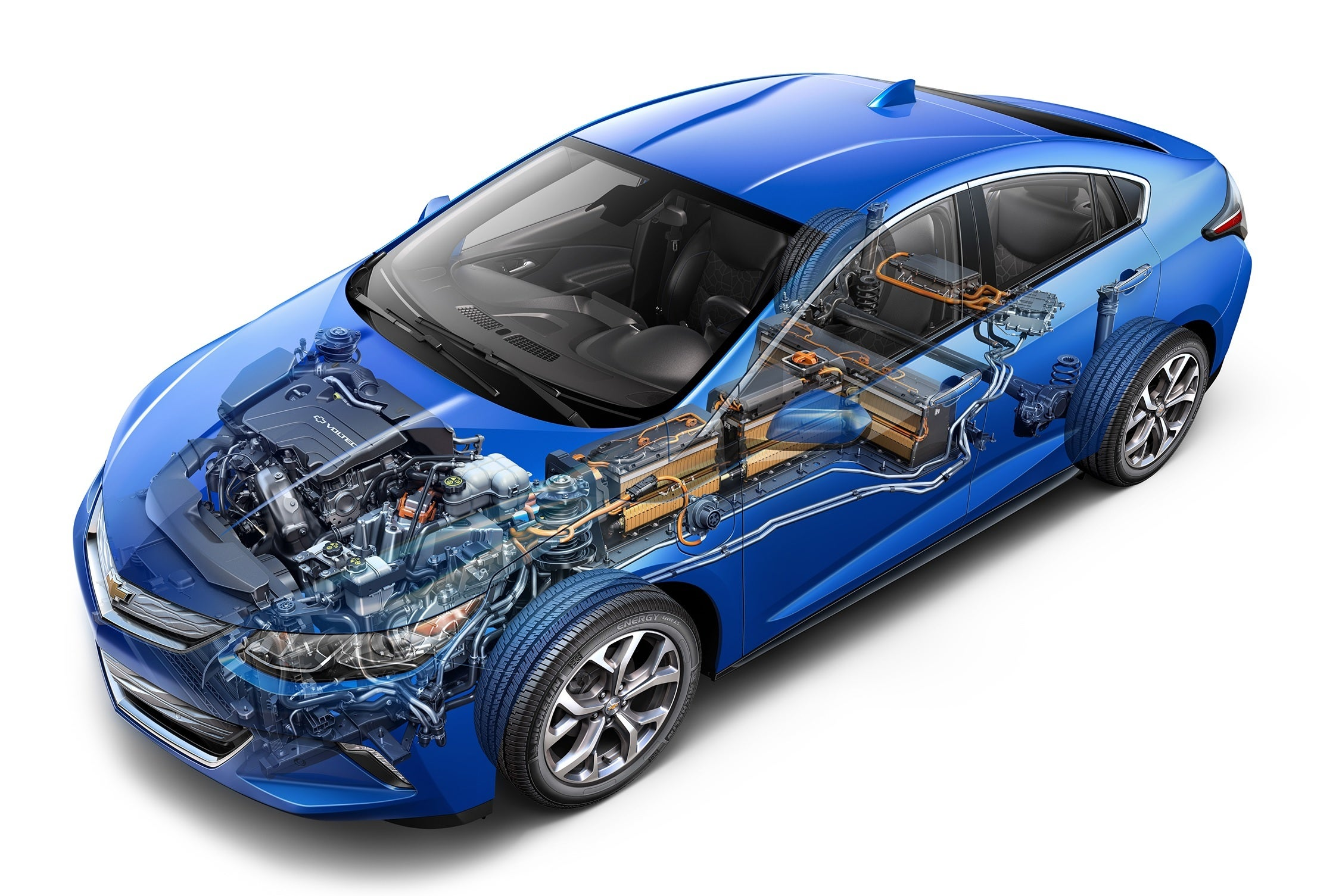 2016 Chevy Volt Review The Cult Hero Of Plug In Hybrids Reaches For Subaru Engine Compartment Diagram Chevrolet Car Drivetrain Cropped