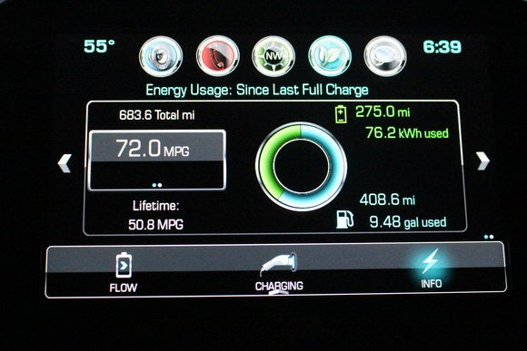 2016 chevrolet volt charge status screen1