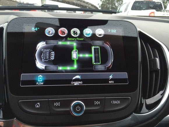 2016 chevrolet volt info view