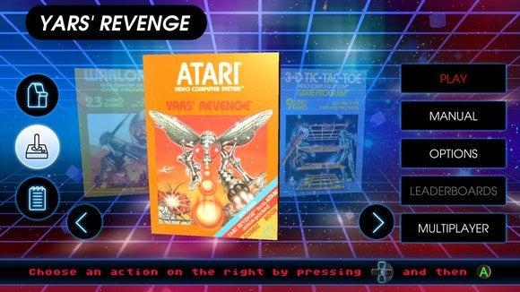 Atari Vault Interface