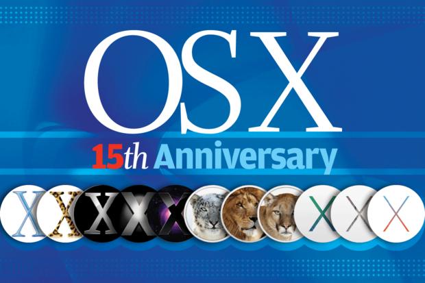 Apple Mac OS X - 15th Anniversary [2001-2016]