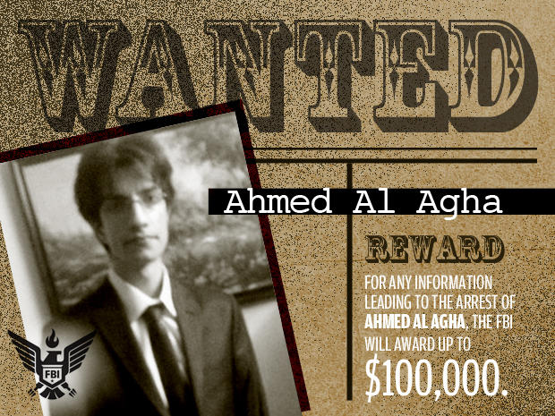 FBI's Most Wanted Cybercriminals:  ahmed al agha