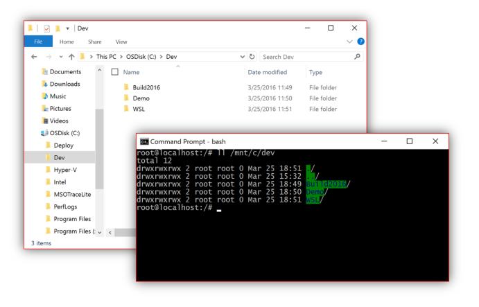 Here's how Windows 10's Ubuntu-based Bash shell will