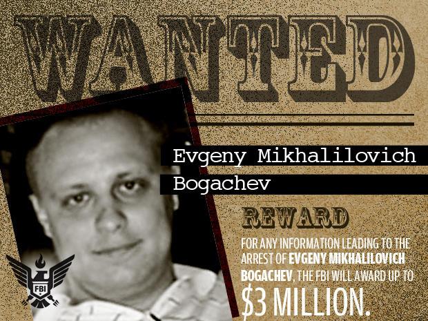 FBI's Most Wanted Cybercriminals:  evgeny mikhalilovich bogachev