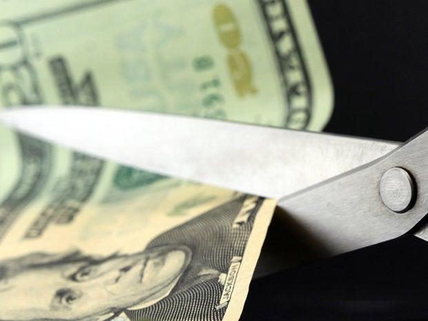 3. Pay cut