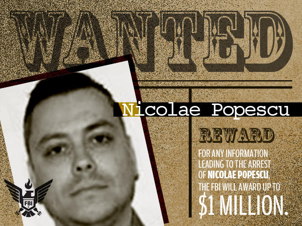 FBI's Most Wanted Cybercriminals: nicolae popescu