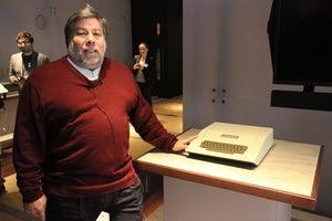 Steve Wozniak and Apple II