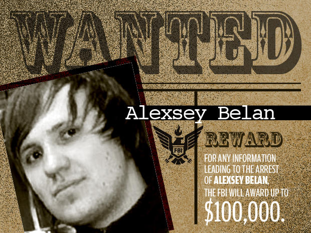 FBI's Most Wanted Cybercriminals:  alexsey belan