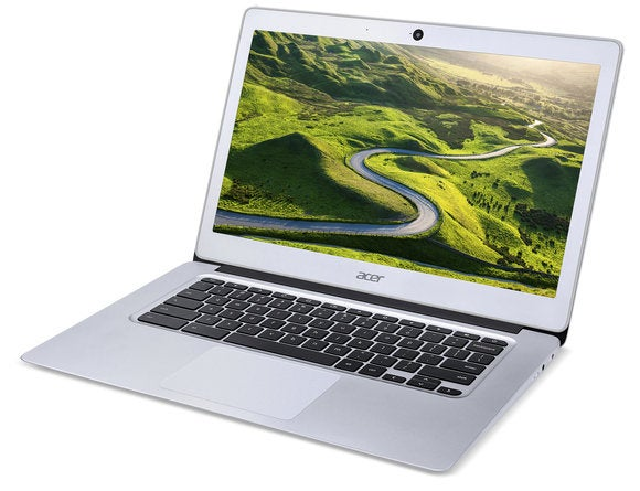 acer chromebook 14 cb3 431 left facing