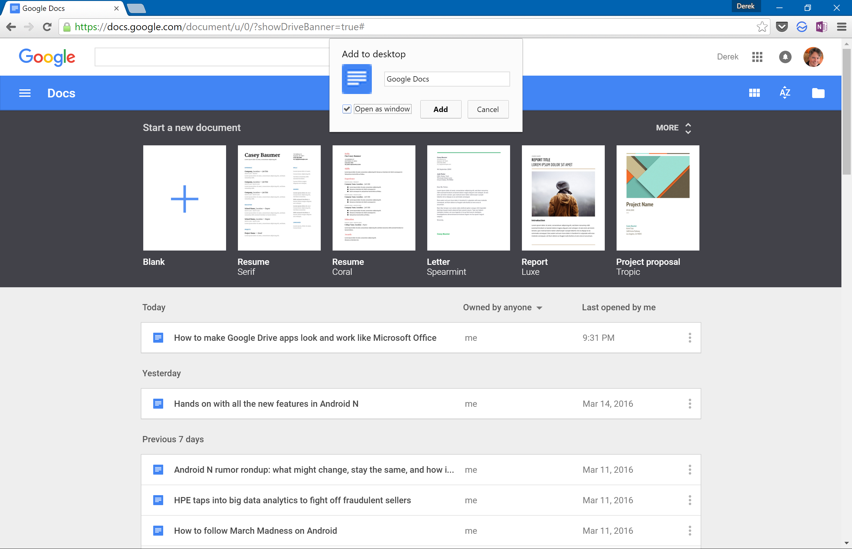 How to make Google Drive apps look and work more like
