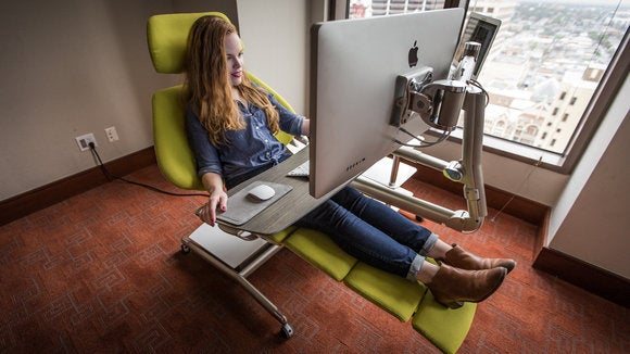Altwork Is A Crazy Configurable Desk For Lying Down On The
