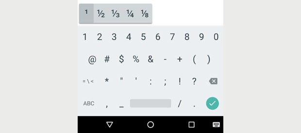 Android Keyboard Shortcuts (3)