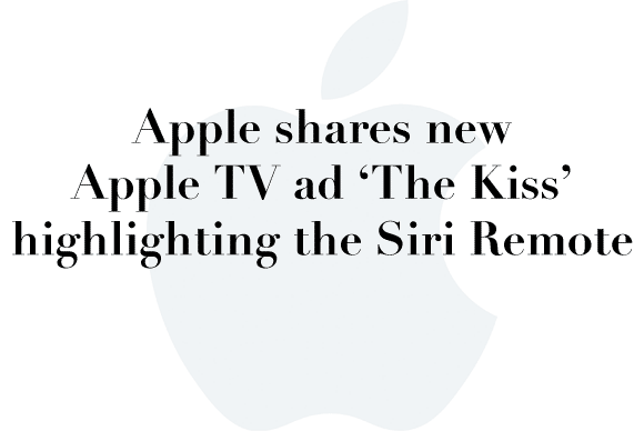 apple ad the kiss