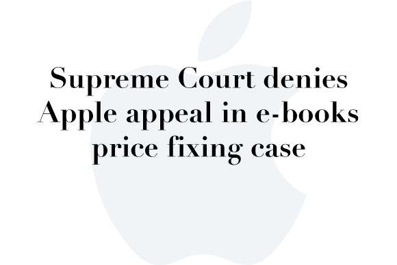 apple ebook supreme court deny