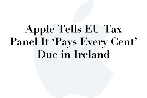 apple eu tax panel