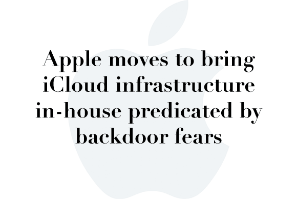 apple fears backdoors