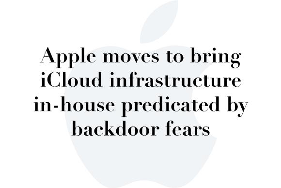 apple fears backdoors