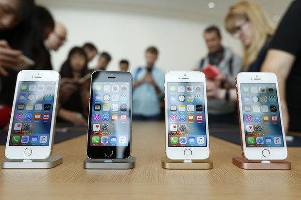 apple iphone se colors
