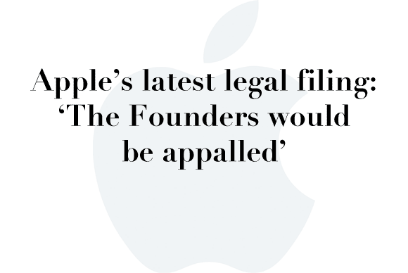 apple legal filing