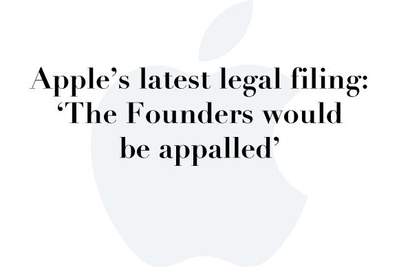 apple legal filing