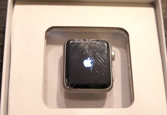 apple watch broken