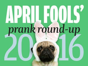 April Fools' Day online prank round-up (2016)