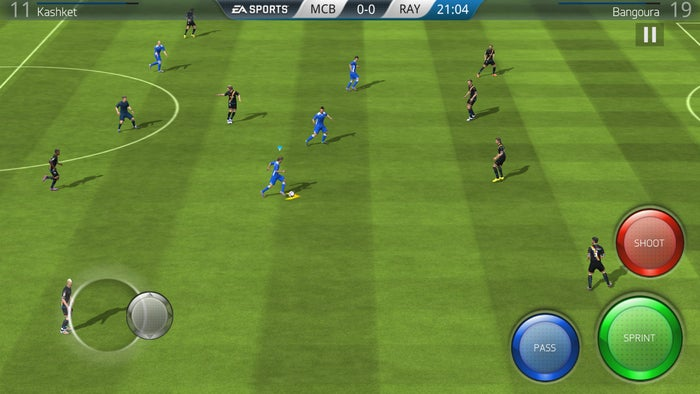 best free android games fifa16
