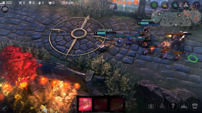 best free android games vainglory